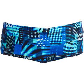 Funky Trunks Classic Caleçon de bain Garçon, electric nights
